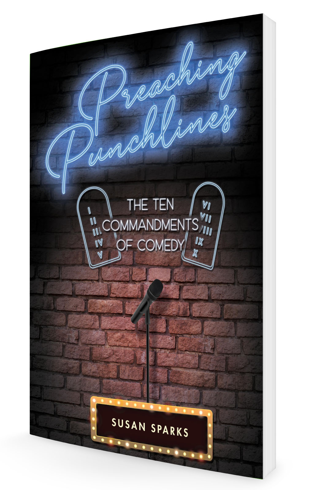 <h2>Preaching Punchlines:<br /> The Ten Commandments of Comedy</h2>